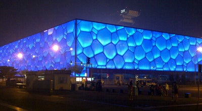 Photo of Pool 国家游泳中心 (水立方)  National Aquatic Center (Water Cube) at 11 Tianchen E. Rd., Beijing, Be, China