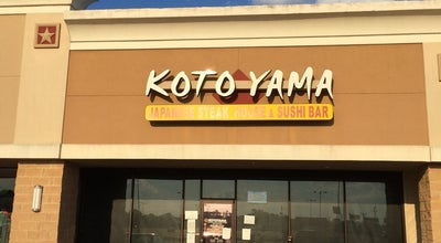 Photo of Sushi Restaurant Kotoyama at 2226 Macarthur Dr, Orange, TX 77630, United States