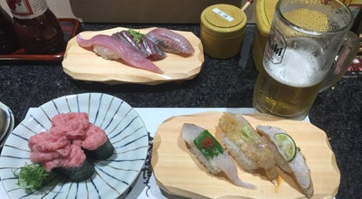 Photo of Sushi Restaurant 魚がし鮨 流れ鮨 藤枝店 at 緑町1-2-18, 藤枝市, Japan