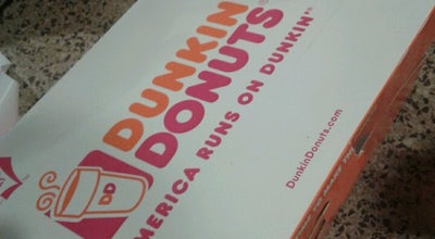 Photo of Coffee Shop Dunkin' Donuts at 50th Street, New York, NY 10020, United States
