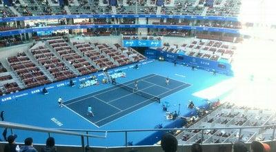 Photo of Tennis Court China Open 中国网球公开赛 at 2 Lincui Rd, Beijing, China