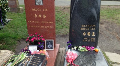 Photo of Historic Site Bruce Lee's Grave at 1554 15th Ave E, Seattle, WA 98112, United States