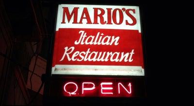 Photo of Italian Restaurant Mario's Italian Restaurant and Lounge at 1298 Main St, Dubuque, IA 52001, United States