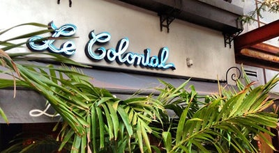 Photo of Vietnamese Restaurant Le Colonial at 937 N Rush St, Chicago, IL 60611, United States