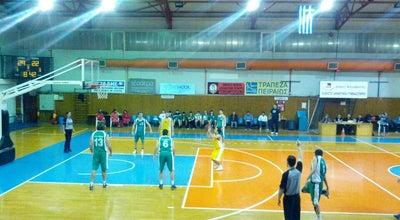 Photo of Basketball Court Κλειστό Δημοτικό Γυμναστήριο Καλαμαριάς at Kalamaria, Greece