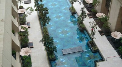 Photo of Pool Swimming Pool Tentrem Hotel at Jl. A.m. Sangaji 72a, Yogyakarta 55233, Indonesia