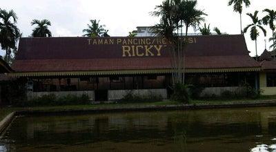 Photo of Lake Taman pancing ricky at Jalan Taman Sari, Pekanbaru 28282, Indonesia