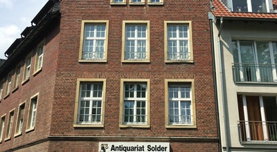 Photo of Bookstore Antiquariat Solder at Frauenstraße 49/50, münster 48143, Germany