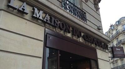 Photo of Chocolate Shop La Maison du Chocolat at 52 Rue Francois 1er, Paris 75008, France