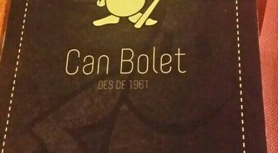 Photo of Spanish Restaurant Can Bolet at Carrer De Sant Mateu, 1-15, Lloret de Mar 17310, Spain