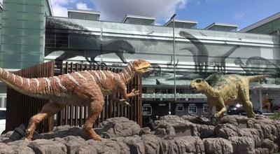 Photo of Outdoor Sculpture 恐竜モニュメント at 中央1-1-1, Fukui-shi 910-0006, Japan