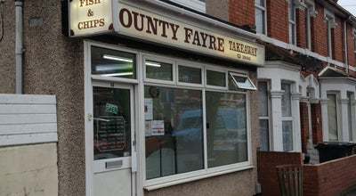 Photo of Fish and Chips Shop County Fayre fish and chips at York Road, Swindon, United Kingdom