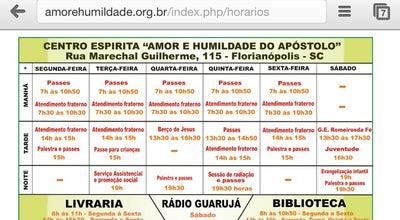 Photo of Temple Centro Espírita Amor e Humildade do Apóstolo at Rua Marechal Guilherme, 115, Florianopolis 88015-000, Brazil