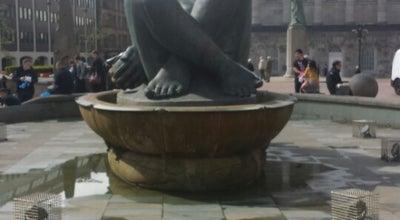Photo of Monument / Landmark Victoria Square Fountain at Victoria Square, Birmingham, United Kingdom