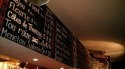 Photo of Wine Bar Les Caves Populaires at 22 Rue Des Dames, Paris 75017, France