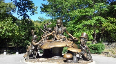 Photo of Outdoor Sculpture Alice in Wonderland Statue at Central Park, New York, NY 10021, United States