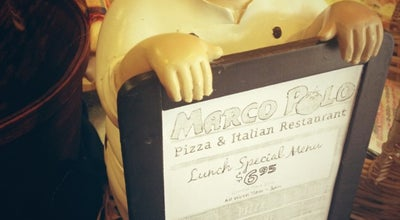 Photo of Pizza Place Marco Polo Pizza & Italian at 55 Crown St, New Haven, CT 06510, United States