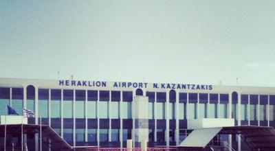Photo of Airport Heraklion International Airport Nikos Kazantzakis (HER) Διεθνής Αερολιμένας Ηρακλείου Νίκος Καζαντζάκης at Νέα Αλικαρνασσός, Irákleion 716 01, Greece
