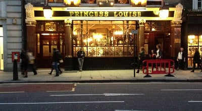 Photo of Pub Princess Louise at 208 High Holborn, Holborn WC1V 7BW, United Kingdom