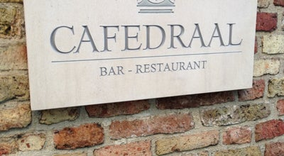 Photo of French Restaurant Cafedraal at Zilverstraat 38, Brugge 8000, Belgium