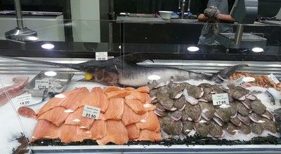 Photo of Fish Market Vishandel De Vis at Voldersstraat 45, Gent 9000, Belgium