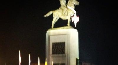 Photo of Monument / Landmark พระบรมราชานุสาวรีย์ สมเด็จพระเจ้าตากสินมหาราช (King Taksin Monument) at ถ.สมเด็จพระเจ้าตากสิน ถ.ประชาธิปก, Thon Buri 10600, Thailand