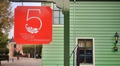 Photo of French Restaurant Restaurant De Vijfde Smaak at Hoogstraat 4, Koog aan de Zaan 1541 KX, Netherlands