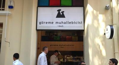Photo of Dessert Shop Göreme Muhallebicisi at Valikonağı Cad. Şakayık Sok. No:62/2, Nişantaşı, Şişli, Turkey