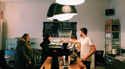 Photo of Restaurant Happy Baristas at Neue Bahnhofstr. 32, Berlin 10245, Germany