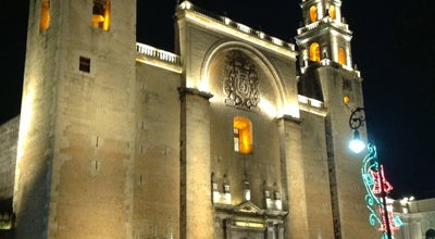 Photo of Church Catedral de San Ildefonso at Calle 60, Merida, YUC 97400, Mexico