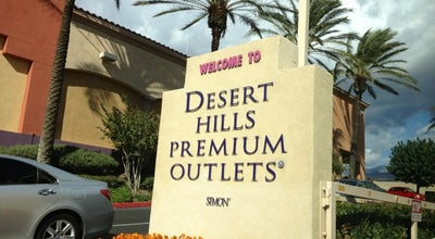 Photo of Mall Desert Hills Premium Outlets at 48400 Seminole Dr, Cabazon, CA 92230, United States