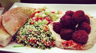 Photo of Falafel Restaurant Taïm Falafel and Smoothie Bar at 45 Spring St, New York, NY 10012, United States