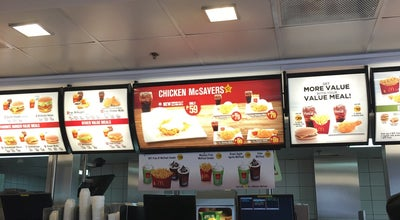 Photo of American Restaurant Mc Donalds Manna Mall at Philippines