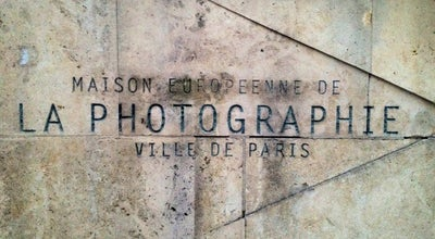 Photo of Art Museum Maison Européenne de la Photographie at 5 Rue De Fourcy, Paris 75004, France