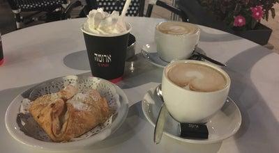 Photo of Cafe Aroma (ארומה) at Israel