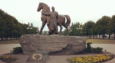 Photo of Monument / Landmark Козак Рог - легендарный основатель города at Ул. 22-го Партсъезда, Кривой Рог 50027, Ukraine