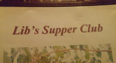 Photo of Italian Restaurant Lib's Supper Club at 106 W 5th St, Elmira, NY 14901, United States