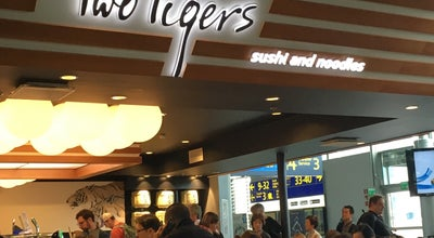 Photo of Japanese Restaurant Two Tigers Sushi and Noodle at Gate 34, Terminal 2, Vantaa 01530, Finland