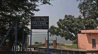 Photo of Lake Osman Sagar at Hyderabad, India