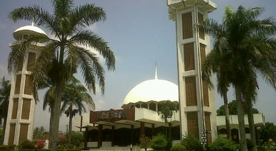 Photo of Mosque Masjid Baitul Amanah ( Masjid Itje ) at Jalan Ciawi, Tasikmalaya, Indonesia