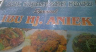 Photo of Asian Restaurant Chinesse Food (Ibu Hj. Aniek) at Jl. Jend Sudirman - Depan Pasar Kliwon, Kudus, Indonesia