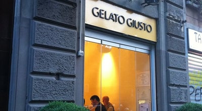 Photo of Ice Cream Shop Gelato Giusto at Via San Gregorio, 17, Milano 20124, Italy