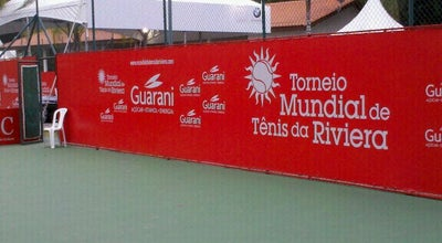 Photo of Tennis Court Riviera Tenis at Bertioga, Brazil