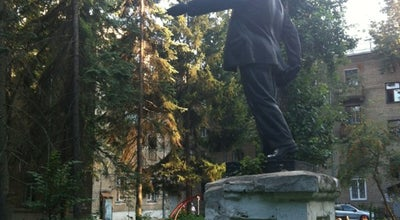 Photo of Monument / Landmark Дворик с Лениным at Чапаева, 15, Мытищи, Russia
