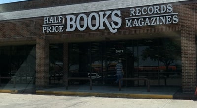 Photo of Bookstore Half Price Books at 5417 S. Hulen St., Ft. Worth, TX 76132, United States