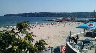 Photo of Beach Южен плаж (South Beach) at Бул. Приморски, Варна, Bulgaria