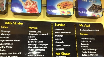 Photo of Ice Cream Shop Mr Mix at Rua Costa Pinto 266 B, Camaçari 42800-040, Brazil