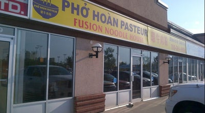 Photo of Vietnamese Restaurant Pho Hoan Pasteur Fusion Noodle House at 11443 Kingsway Ave, Edmonton, Al, Canada