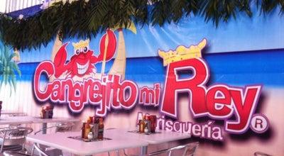Photo of Seafood Restaurant Cangrejito Mi Rey at Av. Taxímetros 105, Nezahualcoyotl, Mexico