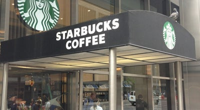 Photo of Coffee Shop Starbucks at 1345 6th Ave, New York, NY 10105, United States